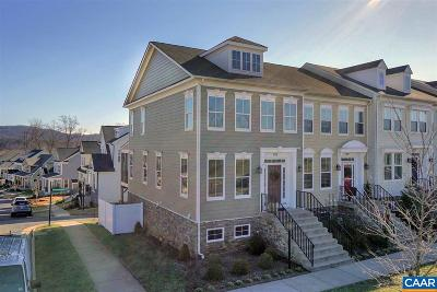 Charlottesville Townhome For Sale: 882 Belvedere Blvd