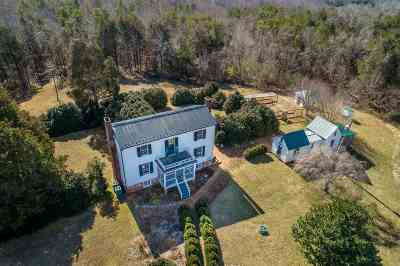 Fluvanna County Single Family Home For Sale: 1250 Mountain Hill Rd