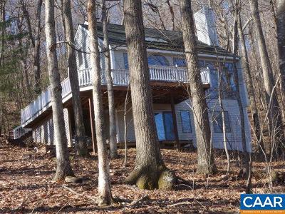 Nelson County Single Family Home For Sale: 85 Hanging Rock Ln