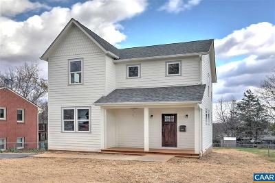 Earlysville Single Family Home For Sale: Lot 1 Durrett Ridge Rd