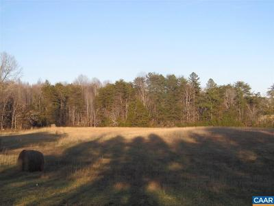 Fluvanna County Lots & Land For Sale: Lot 3 N Boston Rd