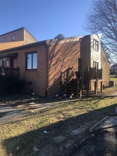Harrisonburg, Mcgaheysville, Elkton, Bridgewater, Broadway Townhome For Sale: 1253 Goldfinch Dr