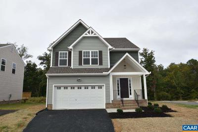 Louisa County Single Family Home For Sale: Lot 61 Reedy Creek Rd