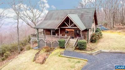 Nelson County Single Family Home For Sale: 1976 Chapel Hollow Rd