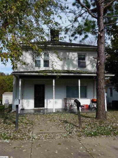 Staunton Single Family Home For Sale: 815 Maple St
