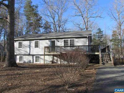 Fluvanna County Single Family Home For Sale: 635 Jefferson Dr