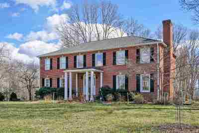 Charlottesville Single Family Home For Sale: 2535 Wyngate Rd