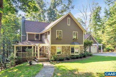 Charlottesville Single Family Home For Sale: 1880 Decca Ln