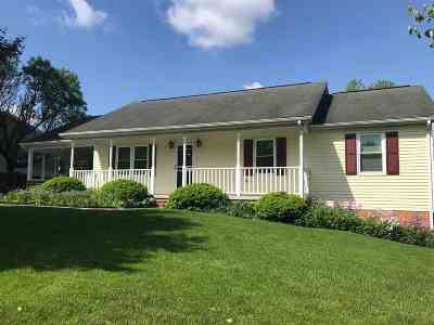 Harrisonburg VA Single Family Home For Sale: $229,000