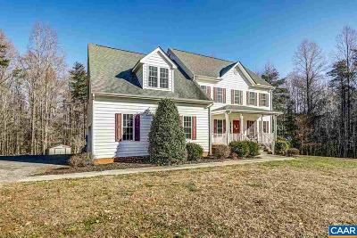 Louisa County Single Family Home For Sale: 1262 Robertson Town Rd
