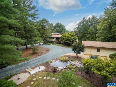 Charlottesville Single Family Home For Sale: 3612 Twin Creeks Rd