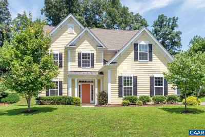Charlottesville Single Family Home For Sale: 1719 Bending Branch Rd