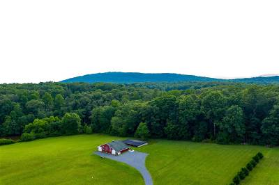 Barboursville Single Family Home For Sale: 3199 Burnley Station Rd
