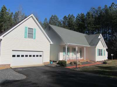 Fluvanna County Single Family Home For Sale: 4109 Venable Rd