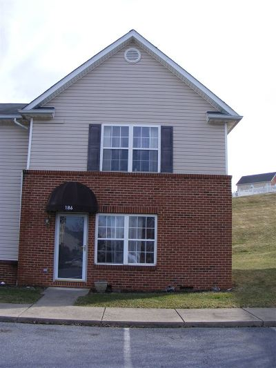Harrisonburg Townhome For Sale: 186 Emerson Ln