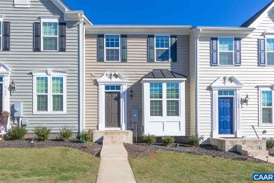 Charlottesville Townhome For Sale: 2138 Elm Tree Knoll