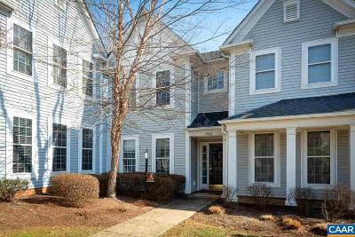 Albemarle County Townhome For Sale: 5462 Hill Top St