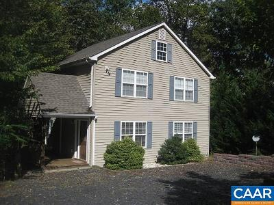 Fluvanna County Single Family Home For Sale: 25 Overlook Dr