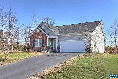 Fluvanna County Single Family Home For Sale: 945 Justin Dr