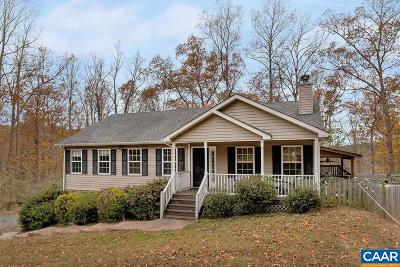 Charlottesville Single Family Home For Sale: 750 Broad Axe Rd