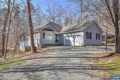 Fluvanna County Single Family Home For Sale: 5 Goldfinch Ct