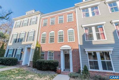 Charlottesville Townhome For Sale: 511 Tulip Tree Ct