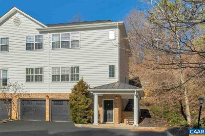 Charlottesville Townhome For Sale: 337 Quarry Rd