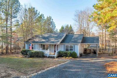Fluvanna County Single Family Home For Sale: 30 Northwood Rd