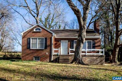 Charlottesville Single Family Home For Sale: 1310 Rose Hill Dr