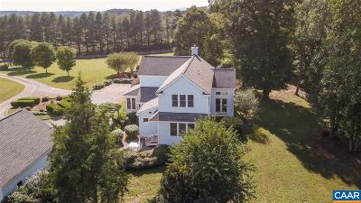 Albemarle County Single Family Home For Sale: 1072 Simmons Gap Rd