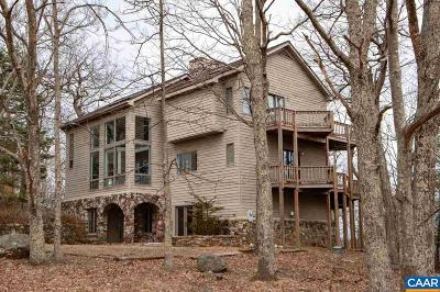 Nelson County Single Family Home For Sale: 1001 Devils Knob Loop