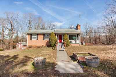 Scottsville Single Family Home For Sale: 4231 Rolling Rd