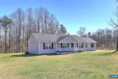 Louisa County Single Family Home For Sale: 180 Spring Rd