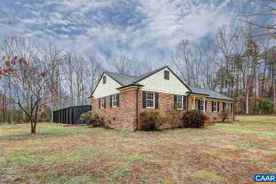Louisa County Single Family Home For Sale: 571 Copper Line Rd