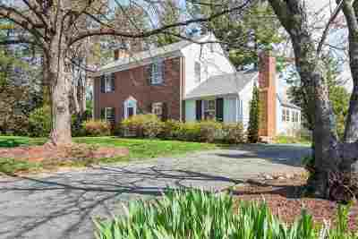 Charlottesville Single Family Home For Sale: 2500 S Bennington Rd