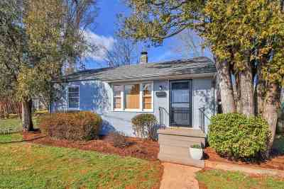 Charlottesville Single Family Home For Sale: 805 Ward Ave