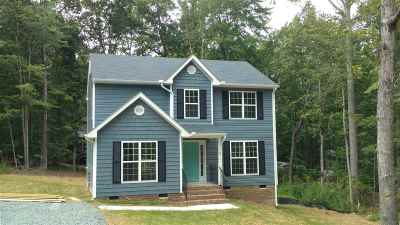 Fluvanna County Single Family Home For Sale: Lot 299 Rockwood Ln