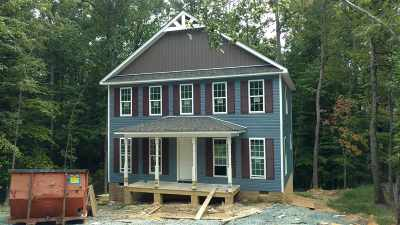 Fluvanna County Single Family Home For Sale: Lot 126 Brougham Rd #Lot 126/