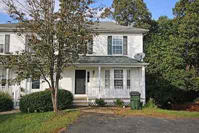 Charlottesville Townhome For Sale: 2239 Hummingbird Ln