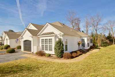 Albemarle County Townhome For Sale: 518 Pebble Hill Ct