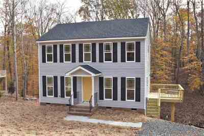 Fluvanna County Single Family Home For Sale: Lot 63 Rowell Rd