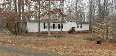 Buckingham County Single Family Home For Sale: 11772 Howardsville Rd