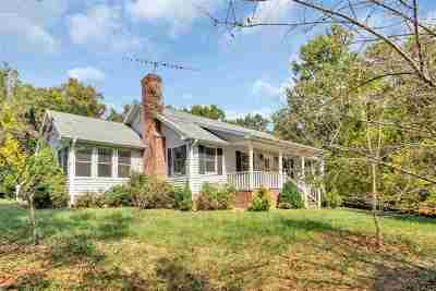 Albemarle County Single Family Home For Sale: 2186 Davis Shop Rd