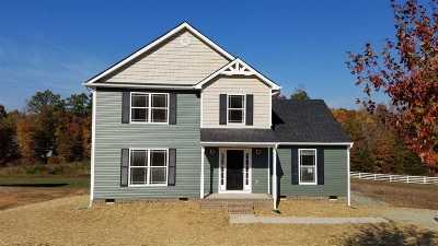 Fluvanna County Single Family Home For Sale: Lot 33 Indigo Ln