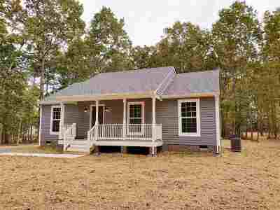 Fluvanna County Single Family Home For Sale: Lot 106 Jefferson Drive West