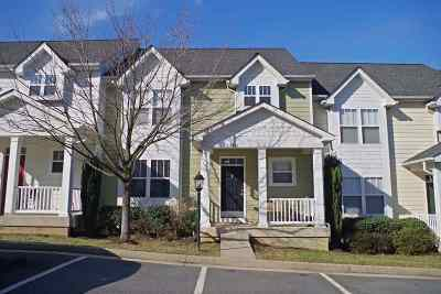 Charlottesville Townhome For Sale: 2157 Saranac Ct
