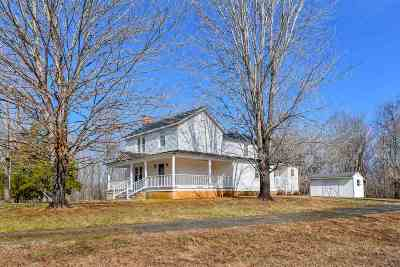 Earlysville Single Family Home For Sale: 1009 Gladtyle Ln