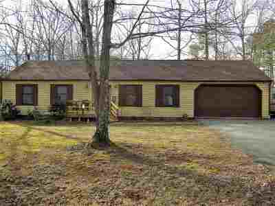 Fluvanna County Single Family Home For Sale: 4 Forest Dr