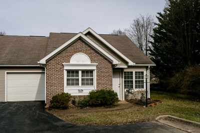 Harrisonburg Townhome For Sale: 121 Emerald Dr
