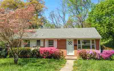 Charlottesville Single Family Home For Sale: 332 Camellia Dr